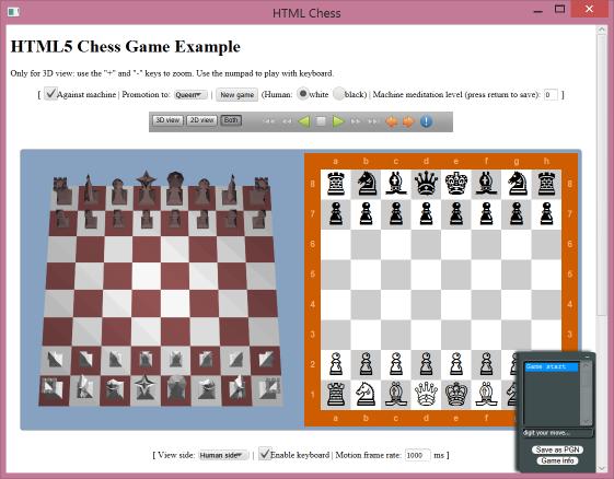 HTML Chess