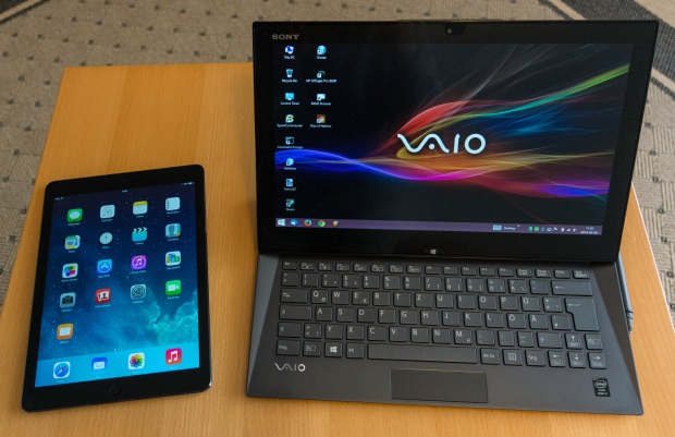 Vaio Duo vs iPad Air